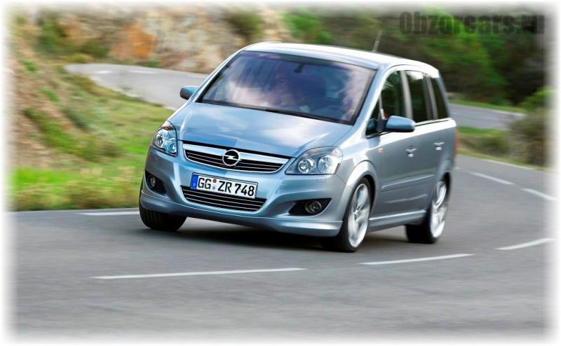 Opel Zafira B 3