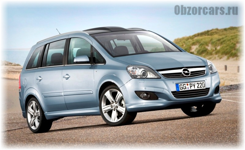 Opel Zafira B 1