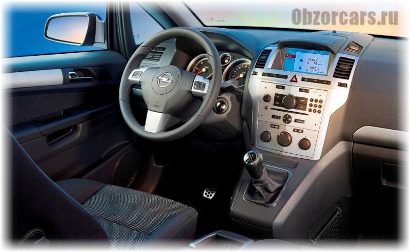 Opel Zafira B 5