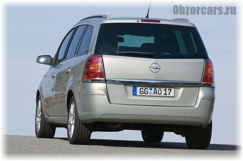 Opel Zafira B 7