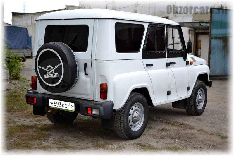УАЗ Hunter 10