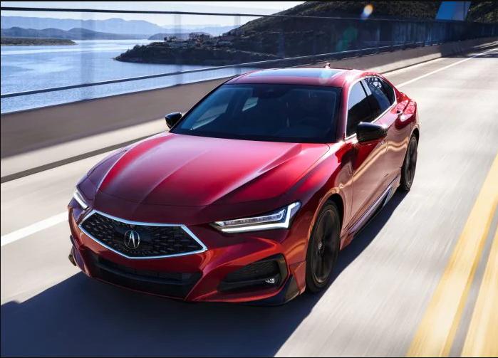 Acura TLX 2021 года: первый взгляд